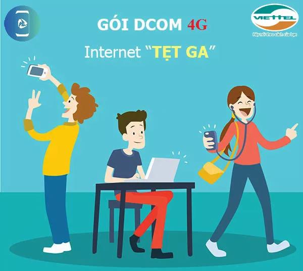 Cách đăng ký các gói cước Dcom 4G Viettel mới Data quá khủng !!!