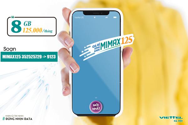 Điều kiện đăng ký Mimax125 Viettel