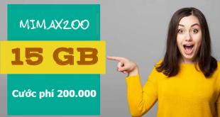 Mách bạn cách đăng ký gói cước Mimax200 Viettel có ngay 15GB