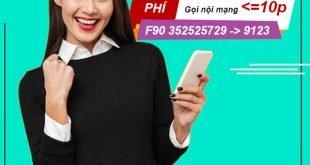 Gói F90 Viettel miễn phí 5GB Data & Miễn phí cuộc gọi dưới 10 phút