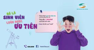 Hướng dẫn bạn cách đăng ký 4G Viettel sinh viên giá giảm 20.000đ
