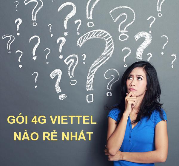 Bật mí các gói 4G Viettel rẻ nhất bạn không thể bỏ qua !!!