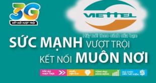 Cách cài đặt gói cước 3G Viettel đơn giản, dễ làm cho điện thoại