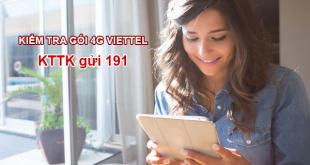 Cách kiểm tra sim 4G của Viettel bằng tin nhắn