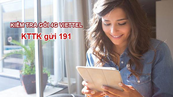 Cách kiểm tra gói cước 4G Viettel bằng tin nhắn