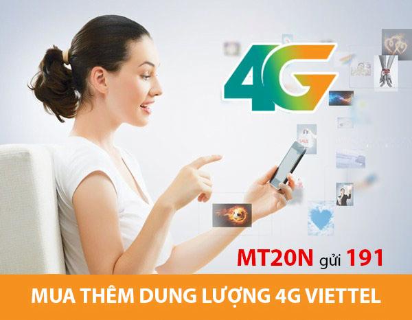 Hướng dẫn thuê bao cách mua thêm dung lượng 4G Viettel siêu rẻ