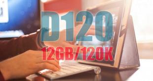 Đăng ký gói D120 Viettel ưu đãi ngay 12GB / tháng