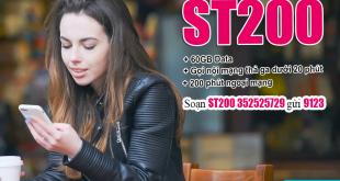Cách đăng ký gói ST200 Viettel nhận 60GB & gọi thoại thả ga 30 ngày