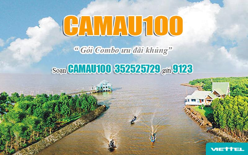 Đăng ký gói Camau100 Viettel bằng tin nhắn dễ dàng