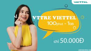 Đăng kí VTTRE Viettel vừa gọi vừa online thả ga