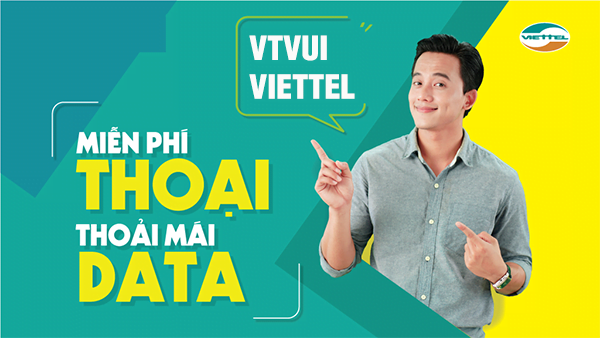 VTVUI Viettel, vừa gọi vừa nhắn tin vừa online thả ga
