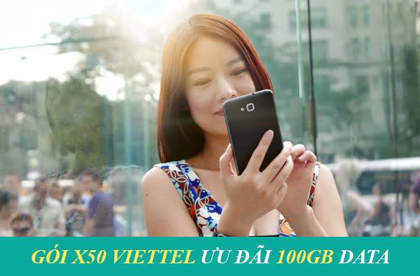 Cách đăng ký 4G Viettel 50k 1 tháng 100GB