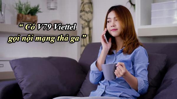Có V79 Viettel gọi nội mạng, nhắn tin thả ga