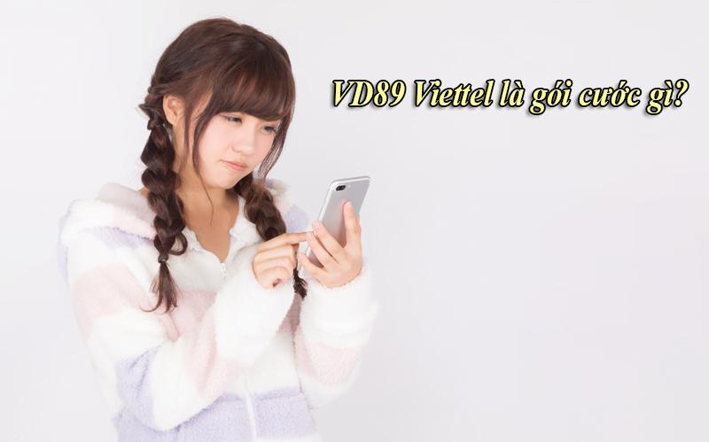 VD89 Viettel là gói cước gì