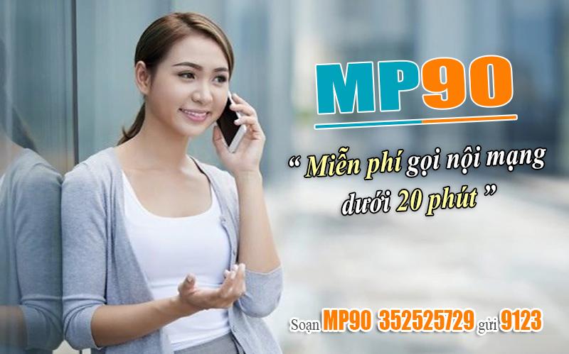 Đăng ký gói MP90 Viettel dễ dàng bằng tin nhắn