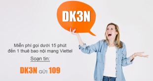 Cách đăng ký gọi nội mạng Viettel 1 ngày 3.000đ không gia hạn