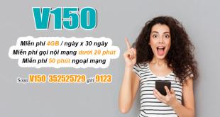 Đăng ký gói V150 Viettel nhận ưu đãi khủng chỉ bằng tin nhắn