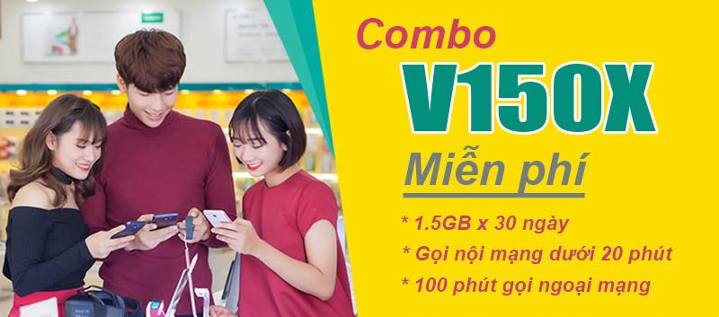 Gói cước V150X của Viettel ưu đãi khủng 45GB & gọi nội mạng dưới 20 phút miễn phí