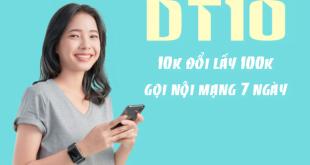 Đăng ký cuộc gọi nội mạng Viettel 10k / 7 ngày có 100k gọi thả ga