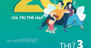 Ngày 30/06/2020, Viettel khuyến mãi 20% giá trị thẻ nạp