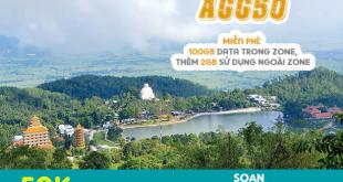Đăng ký gói AGG50 Viettel miễn phí 102GB /tháng