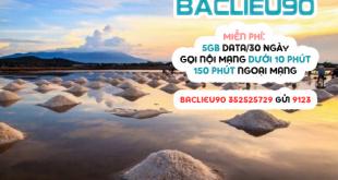 Đăng ký gói cước BACLIEU90 Viettel miễn phí 5GB, gọi thoại thả ga chỉ 90k