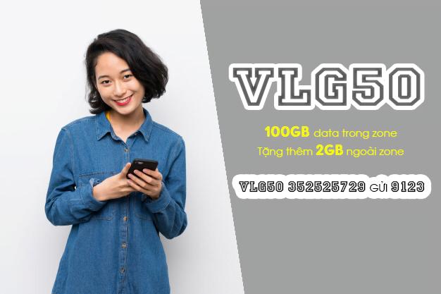 Gói VLG50 Viettel ưu đãi 102GB cho khách hàng tại Vĩnh Long