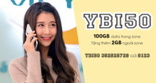 Gói YBI50 Viettel ưu đãi 102GB cho khách hàng tại Yên Bái