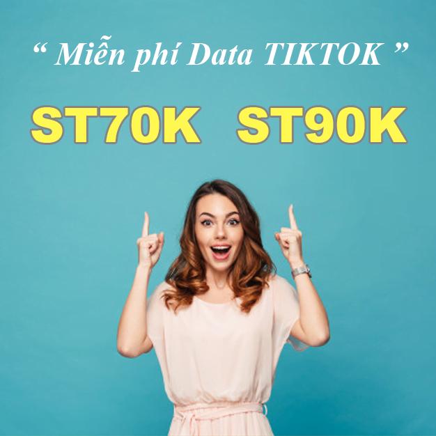 Xem TikTok hết Pin không hết Data cùng 2 gói cước Data Viettel mới