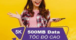 Cách đăng ký gói ST5K Viettel có 500MB sử dụng hết 24h giá chỉ 5k
