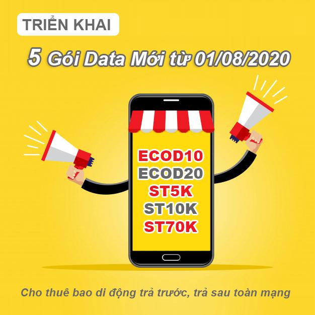 Viettel triển khai 5 gói cước 4G mới từ 01/08/2020, ưu đãi thế nào?