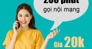 Cách đăng ký gọi 200 phút nội mạng Viettel giá cực rẻ, gọi cực đã