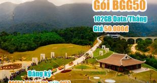 Đăng ký Gói BGG50 Viettel miễn phí 102GB cho khách hàng Bắc Giang