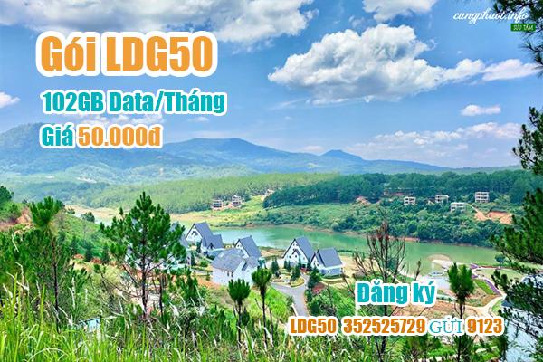 Gói LDG50 Viettel miễn phí 102GB cho khách hàng tại Lâm Đồng