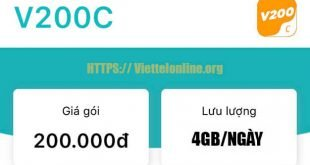 Gói V200C Viettel ưu đãi 5 trong 1 giá chỉ 200.000đ/tháng