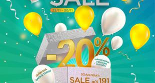 Siêu Sale Back Friday - Giảm ngay 20% phí đăng ký gói cước Viettel