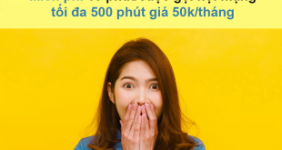 Đăng ký gói MP50X Viettel miễn phí 20 phút/cuộc gọi, tối đa 500 phút nội mạng