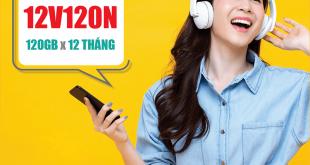 Gói 12V120N Viettel miễn phí 120GB/Tháng trong 12 tháng